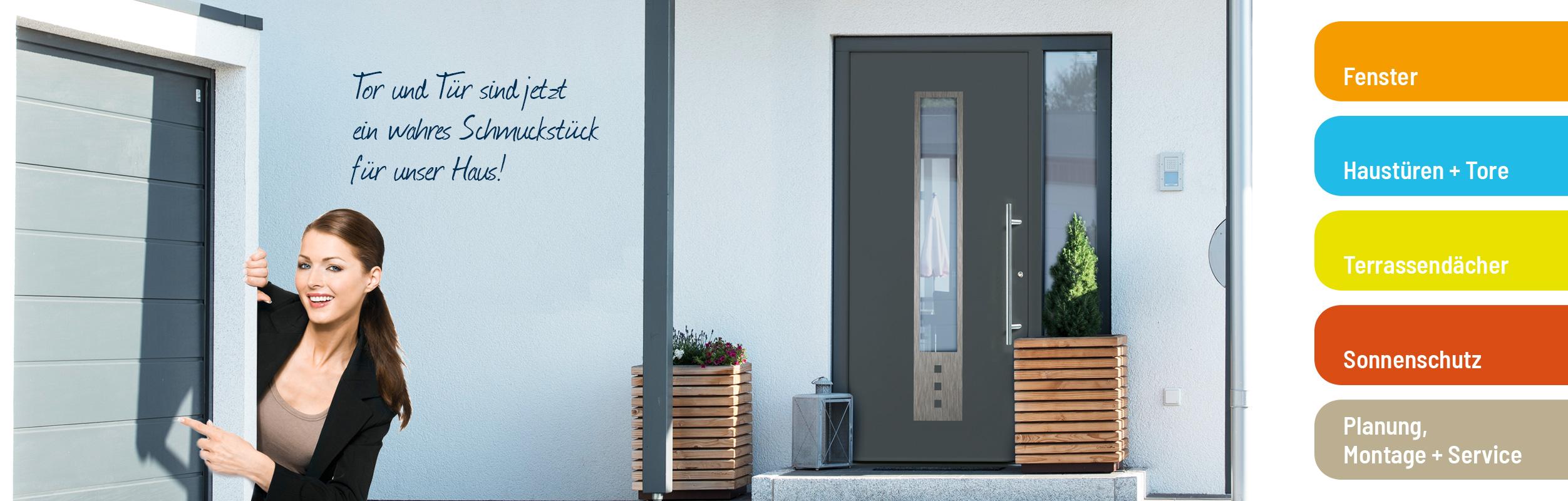 Pott Bauelemente in Langenfeld stattet Ihr zu Hause mit Türen, Fenstern, Toren und Markisen aus