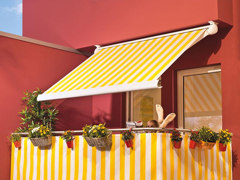 Markise Sonnenschutz für Balkon von Lewens bei Pott Bauelemente aus Langenfeld
