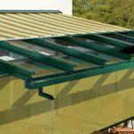 Sonnenschutz fuer Glasdach von Pott Bauelemente